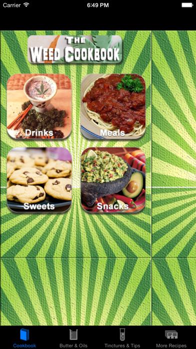Weed Cookbook review screenshots
