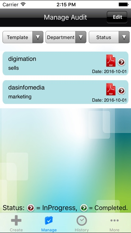 ISO 9001 Audit - ISO 14001 Audit for iPhone