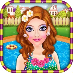 Pool Party Makeover Salon - Girls Games for kids