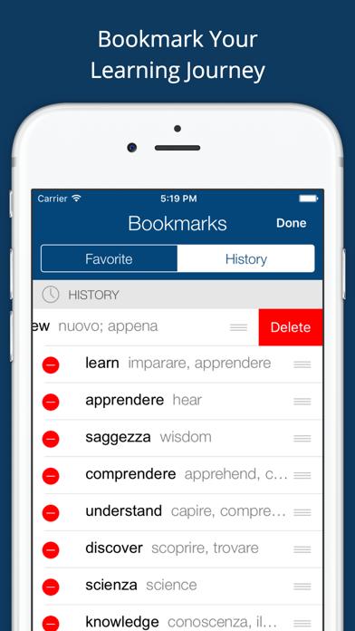 Italian English Dictionary App - 窓用