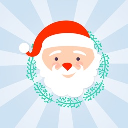 Funny face Christmas characters - Fx Sticker