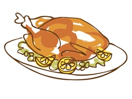 Thanksgiving Day Stickers