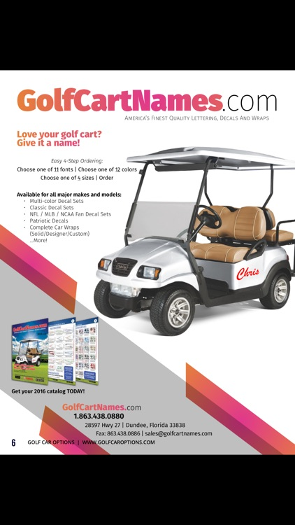 Golf Car Options
