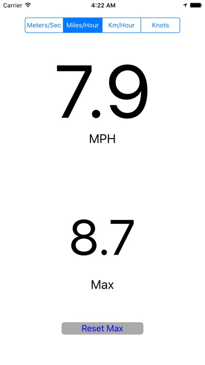 Speedometer with Max screenshot-1