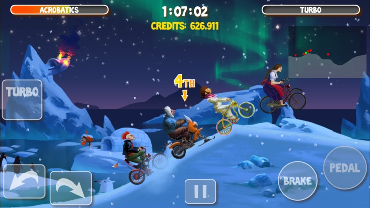 Crazy Bikers 2 Free screenshot-2