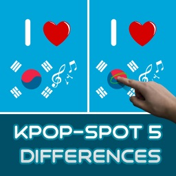 Kpop - Spot 5 Differences
