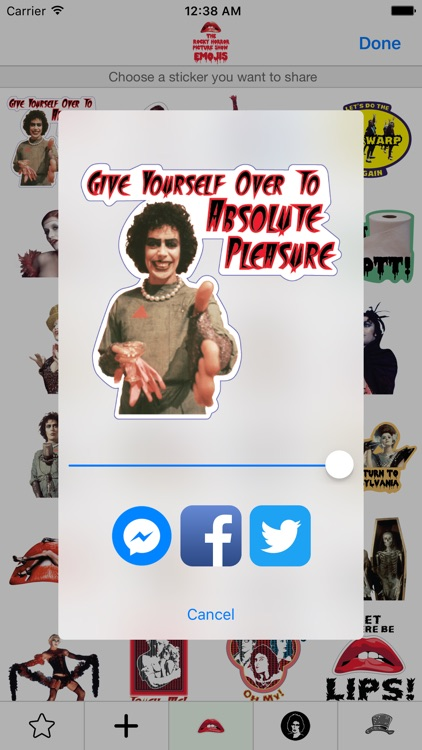 The Rocky Horror Picture Show Emojis screenshot-1