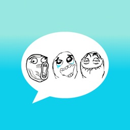 Animated Le Derp Meme Stickers for iMessage