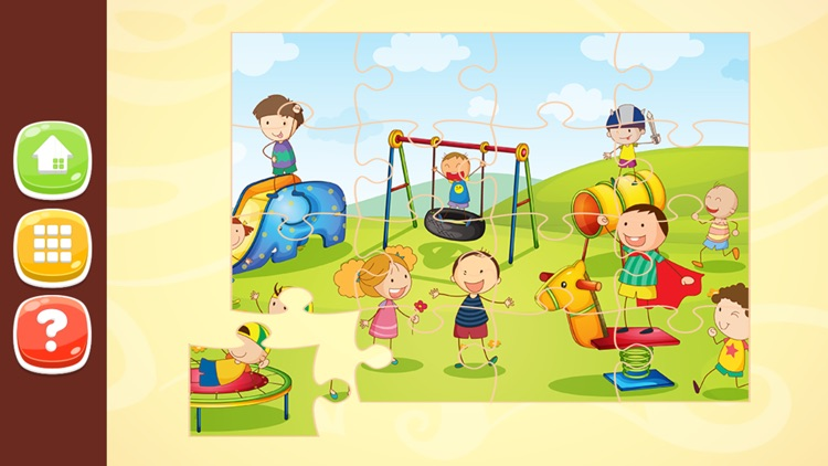 Kids Jigsaw Puzzles HD for Kids 2 to 7 Years Old screenshot-4