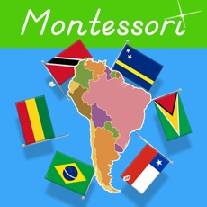 Activities of Flags of South America - Montessori Geography