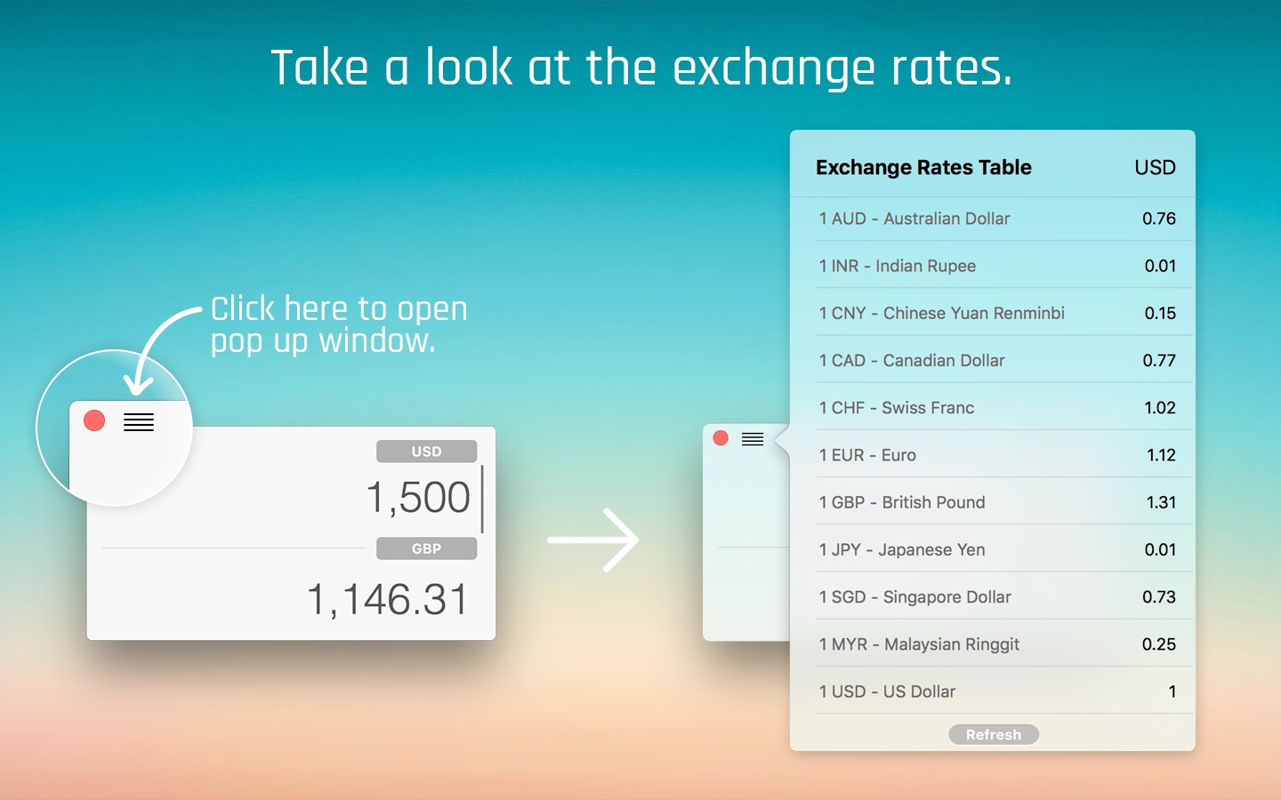 ‎CurrencyApp - Simple Currency Convertor on the Mac App Store