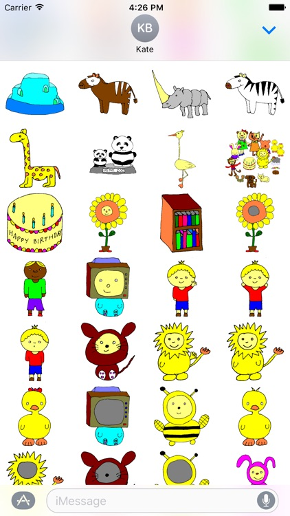 Kids World Stickers screenshot-4