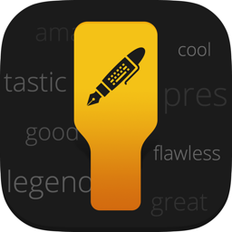 Ícone do app Hemingboard: Synonyms,Rhymes,Puns in Your Keyboard