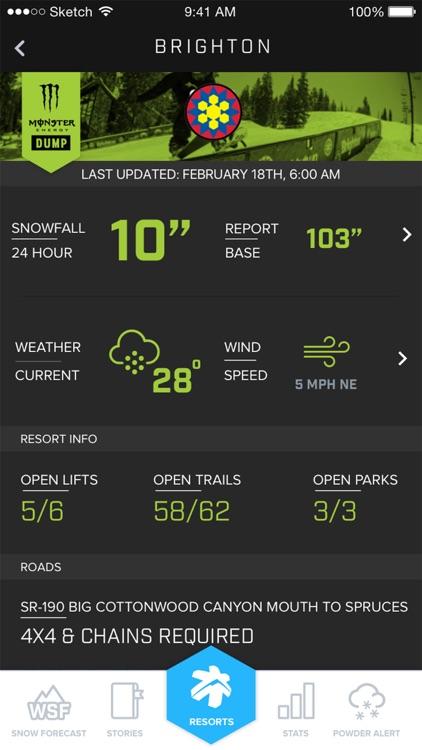 Ski Utah Snow Report screenshot-3