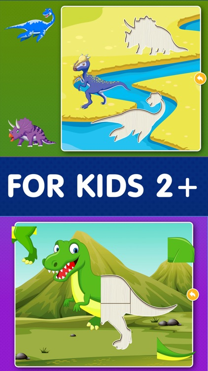 Dinosaur Games: Puzzle for Kids & Toddlers screenshot-1