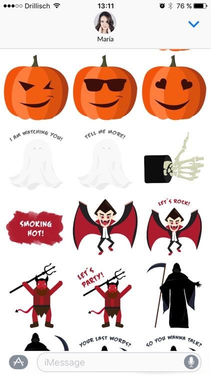 Grusel - Halloween Stickers screenshot-3