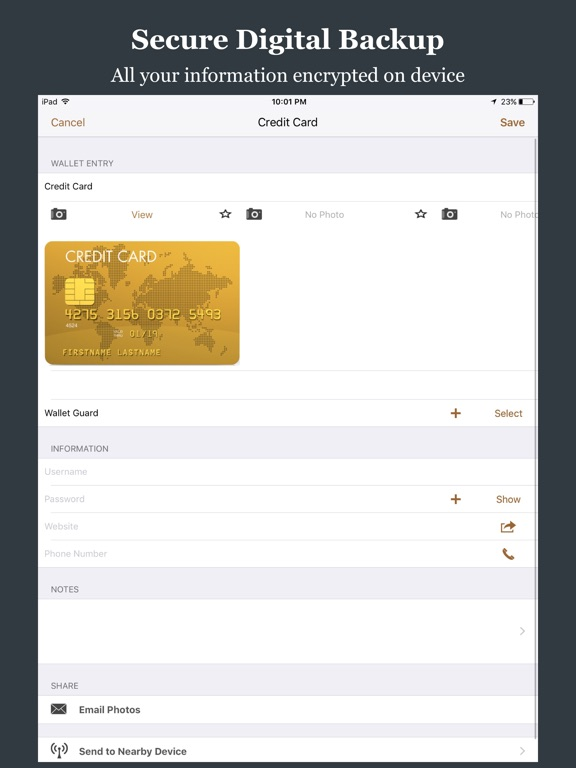 Wallet Guard Screenshots
