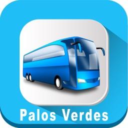 Palos Verdes Transit California USA where is Bus