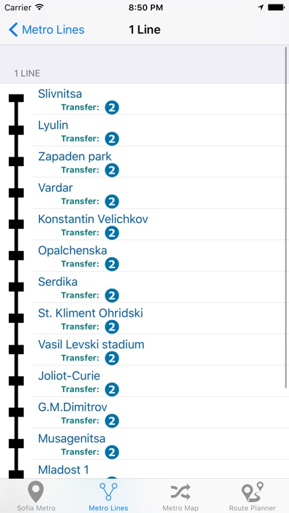 Sofia Metro screenshot-4