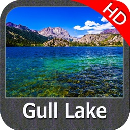 Lake Gull Michigan HD GPS fishing chart offline
