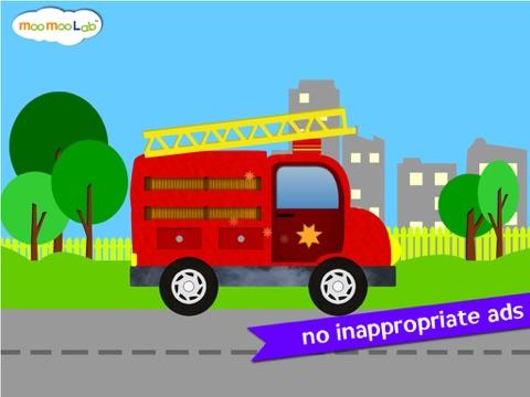 くるま, トラック, しょうぼうしゃ -子供のためのゲームのおすすめ画像3