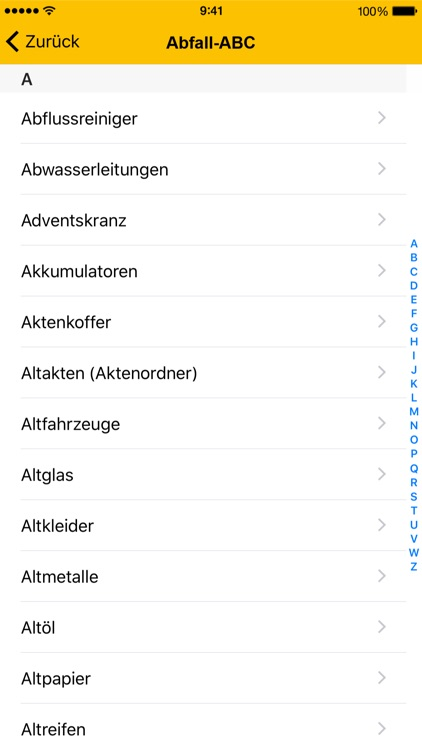 Abfall App FDS screenshot-4
