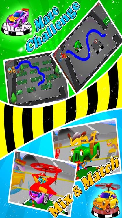 Vehicle Fun - Preschool Games screenshot-4