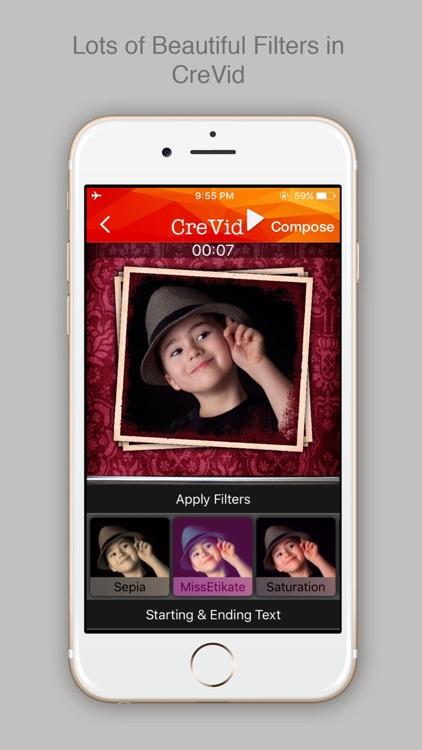 Photos & Video Slideshow Maker screenshot-4