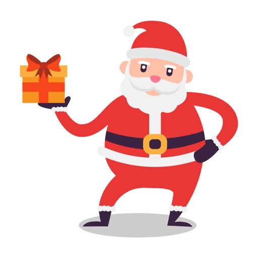 Santa Stickers - Santa Claus Stickers for iMessage icon