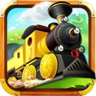 Pocket Railroad Earth Crossing Track n Train Tycoon Maze Puzzle icon