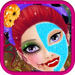 Halloween Spa Makeup Salon - Kids Game for Girls