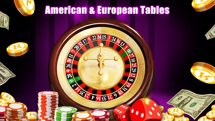 Roulette Casino FREE - American Roulette Wheel screenshot-1