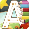 孩子ABC学习和作家