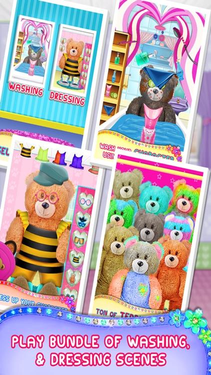 Teddy Bear Makeover - A Animal Makeup & Dress-up Game screenshot-3
