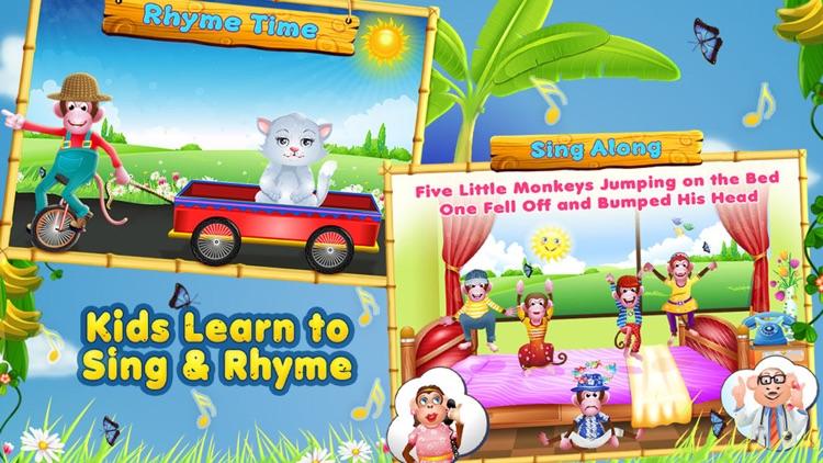 5 Little Monkeys - Sing Along Full Version