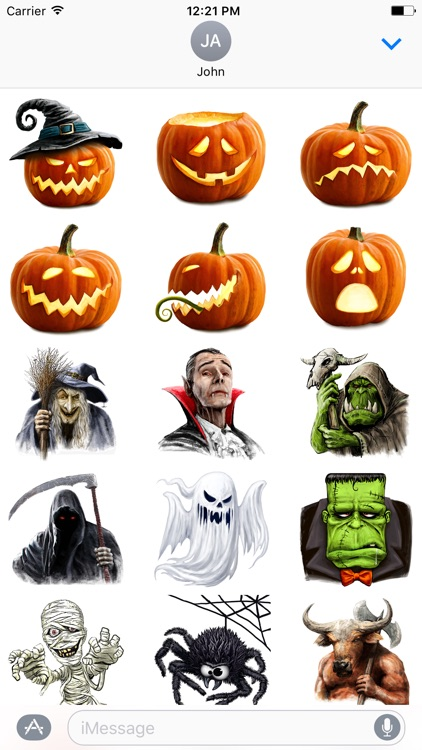 Fantasy Characters: Halloween & Horror Edition screenshot-0