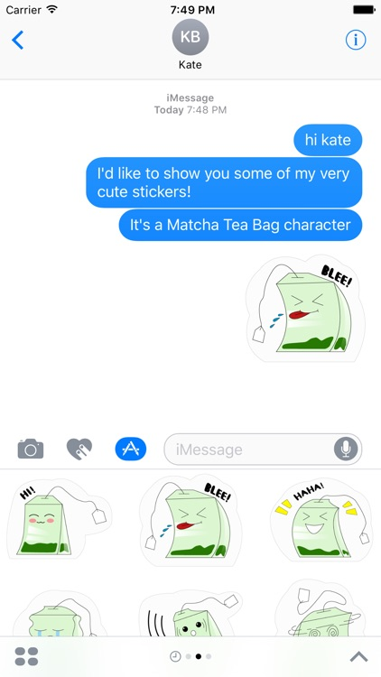 Matcha Sticker Pack