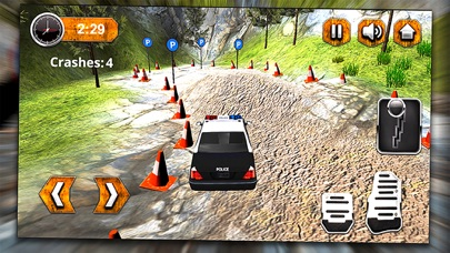 4x4 Offroad Police Car Parking Chase  3D Simulator App 截图