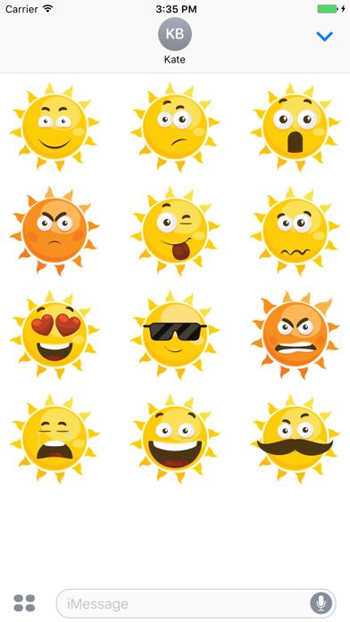 Sticker Me: Cool Sun