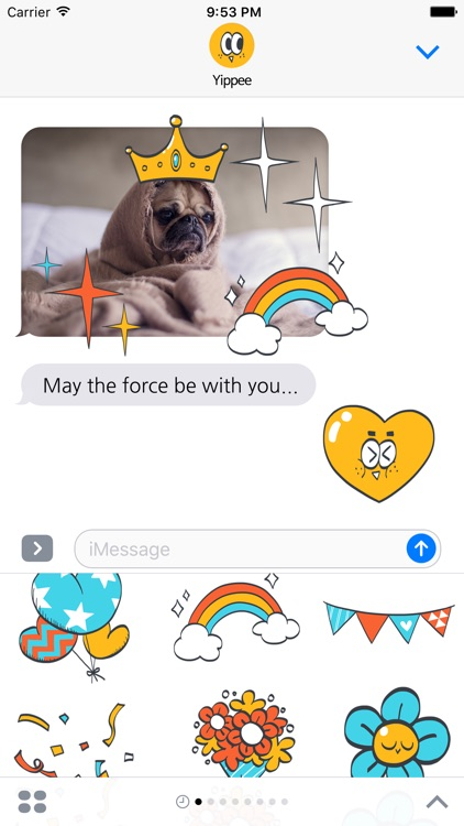 Yippee stickers screenshot-2