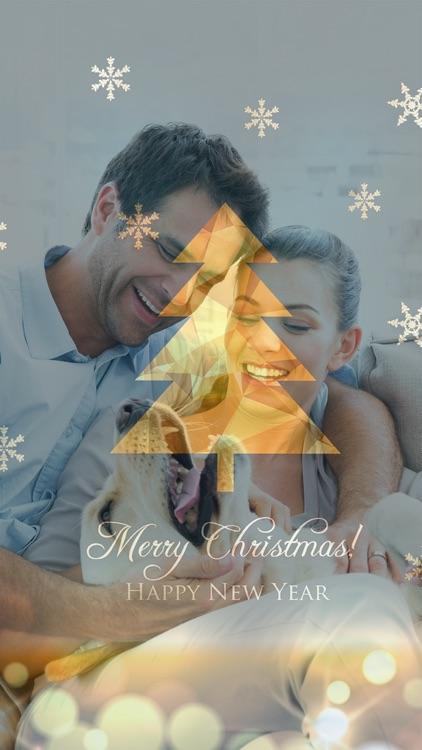 Christmas Photo Effects & Filters - Bokeh Blender