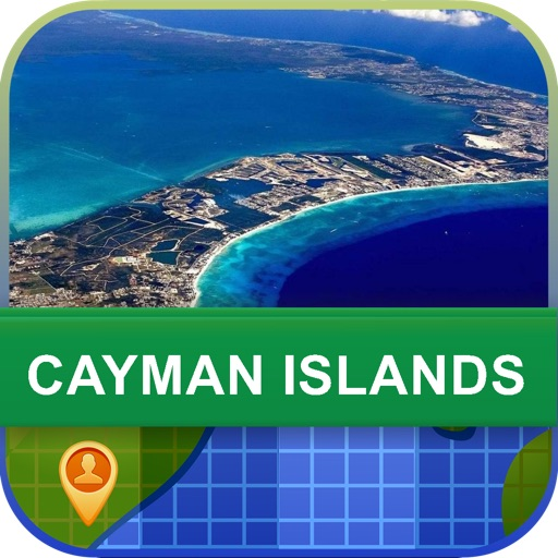 Offline Cayman Islands Map - World Offline Maps