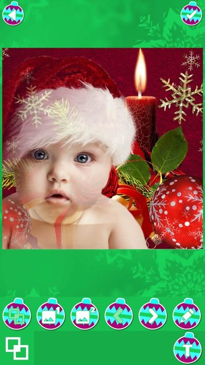 Christmas Photo Blender - Best Xmas Picture Editor screenshot-4