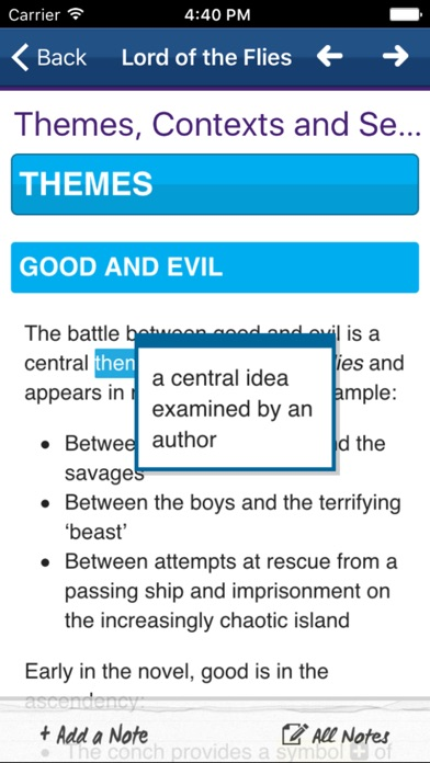 Lord of the Flies York Notes for GCSE 9-1 screenshot two
