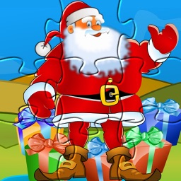 Santa Puzzle: Christmas jigsaw kids learning games