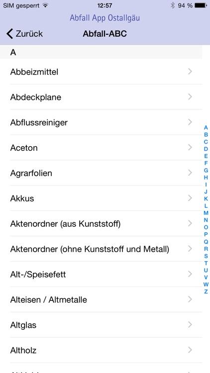 AbfallApp Ostallgäu screenshot-4