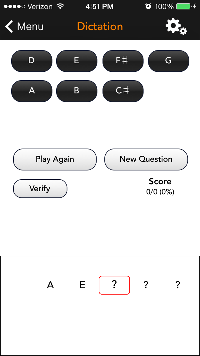 SolFi Ear Trainer 3 Screenshot