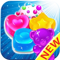 Candy Jelly Bears - For match 3 sweet bear puzzle