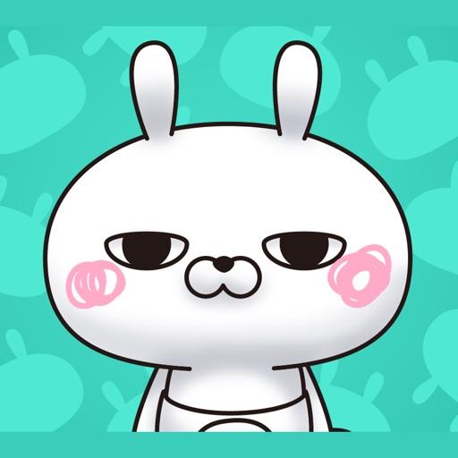 Single eyelid of a rabbit iOS App