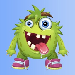 Tazzy - Funny Cartoon Monster Stickers & Greetings